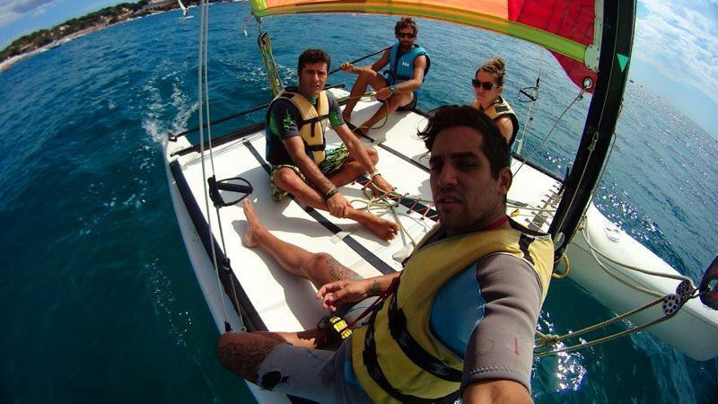 EXCURSION CATAMARAN