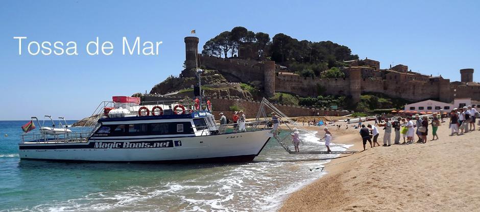 Excursión Linea Marítima de Sant Feliu de Guíxols a Tossa de Mar (ida y vuelta)